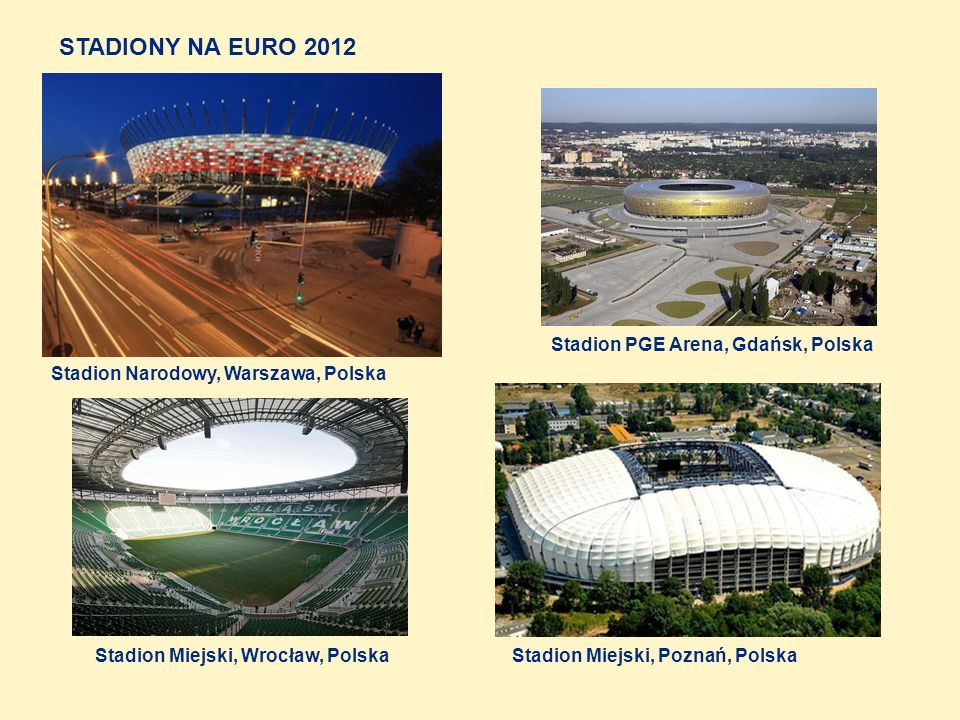 STADIONY NA EURO 2012 Stadion PGE Arena, Gdańsk, Polska