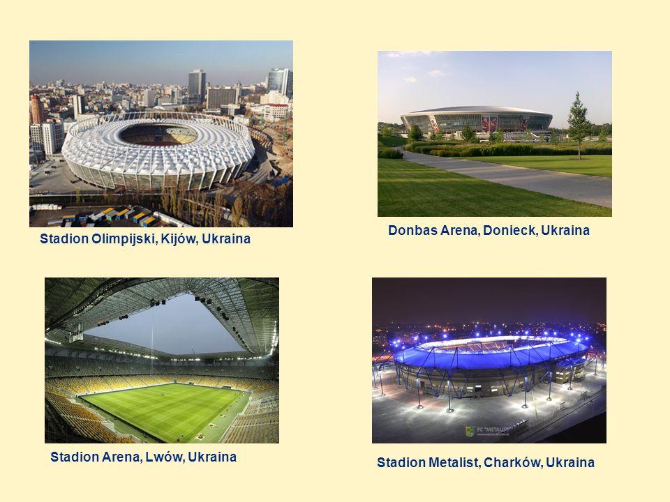 Donbas Arena, Donieck, Ukraina