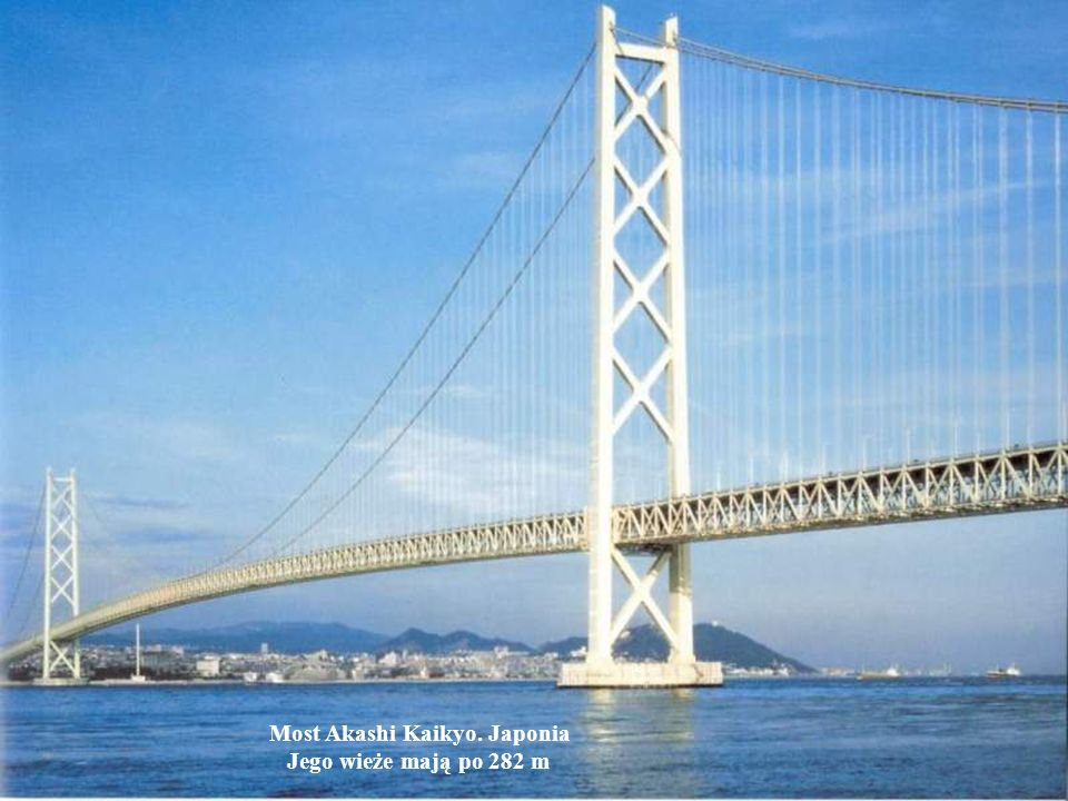 Most Akashi Kaikyo. Japonia
