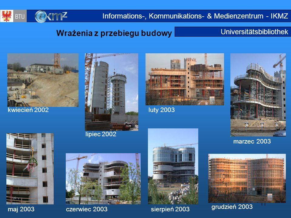 Wrażenia z przebiegu budowy