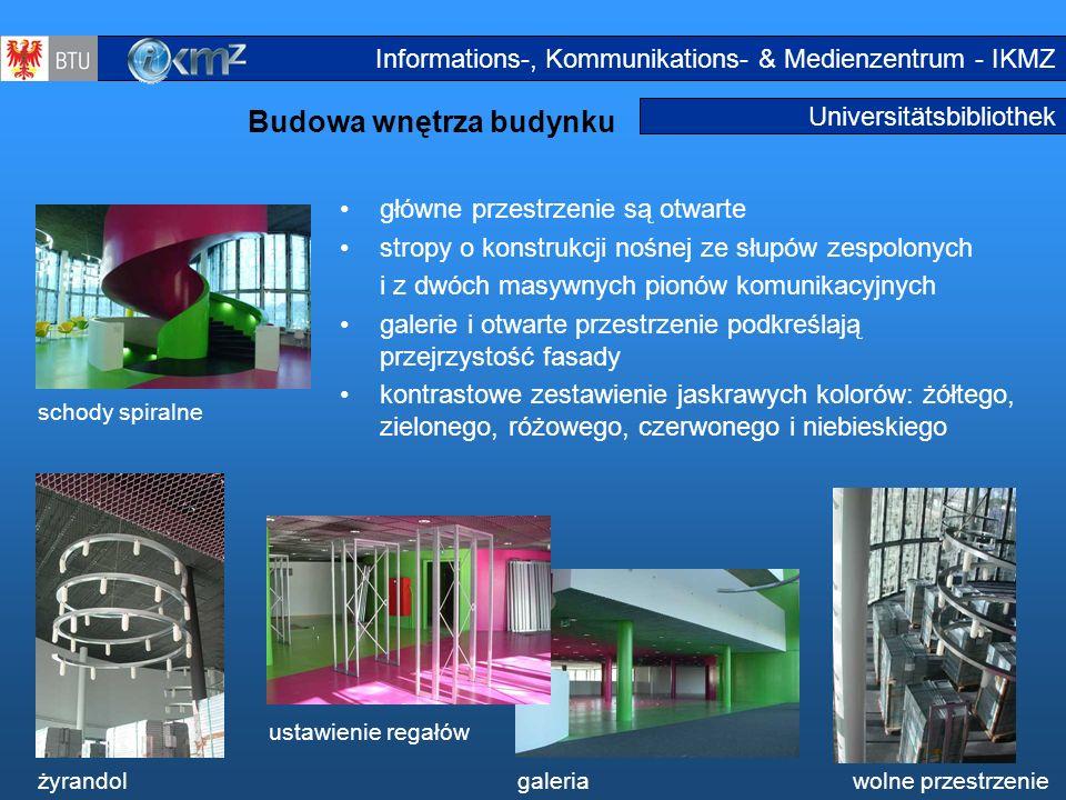 Budowa wnętrza budynku