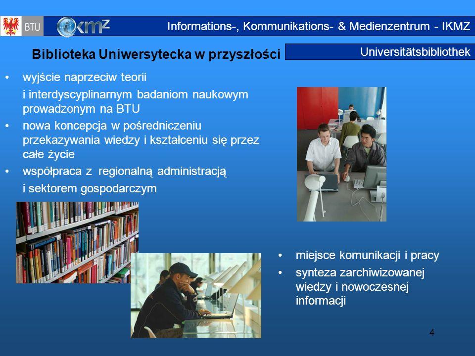 Biblioteka Uniwersytecka w przyszłości