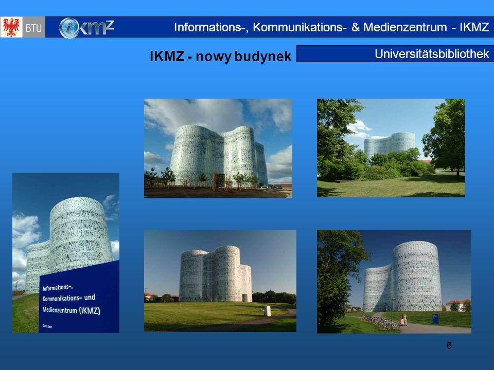 Informations-, Kommunikations- & Medienzentrum - IKMZ