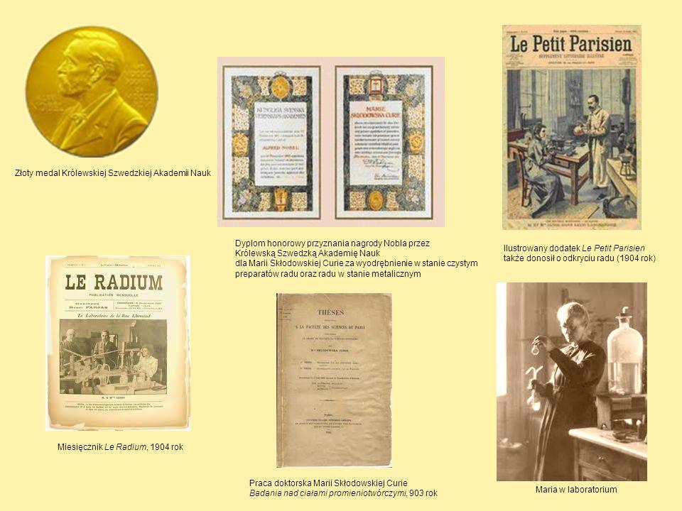 Złoty medal Królewskiej Szwedzkiej Akademii Nauk