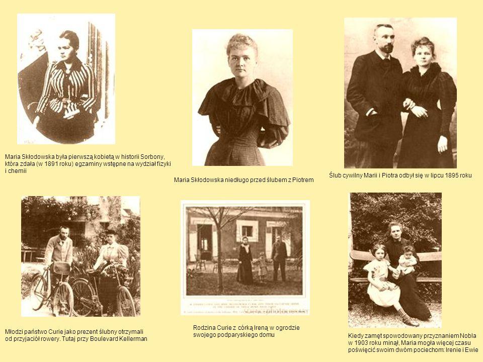 Maria Skłodowska była pierwszą kobietą w historii Sorbony,