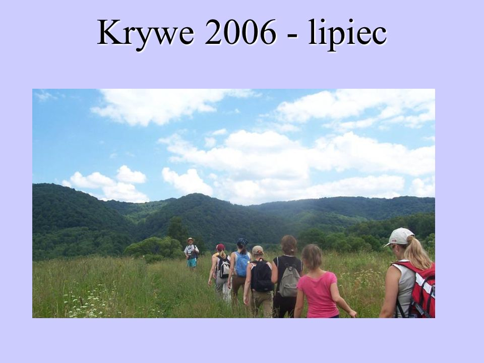 Krywe 2006 - lipiec