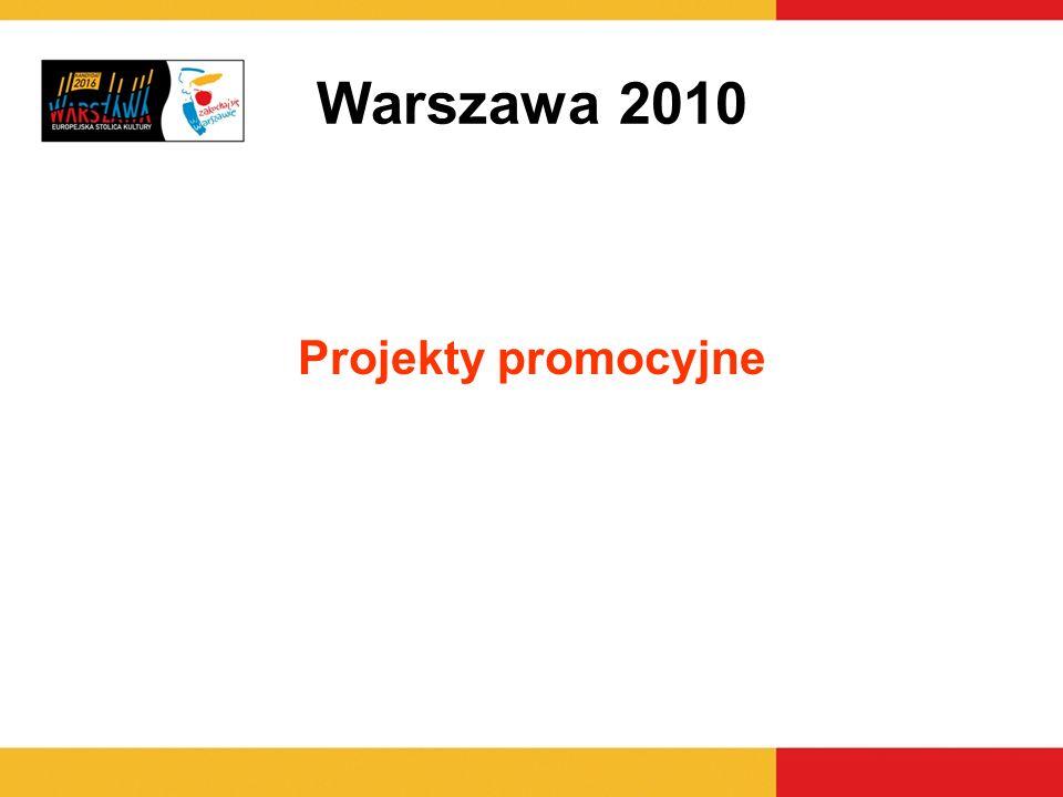 Warszawa 2010 Projekty promocyjne 5