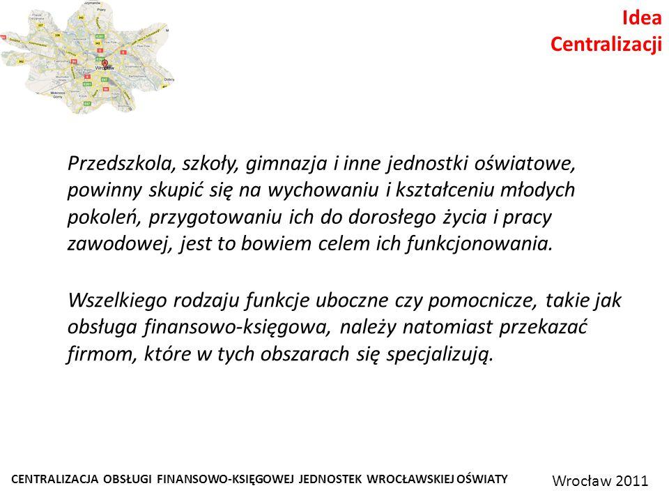Idea Centralizacji