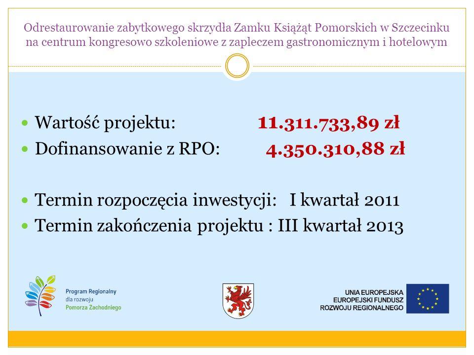 Dofinansowanie z RPO: 4.350.310,88 zł