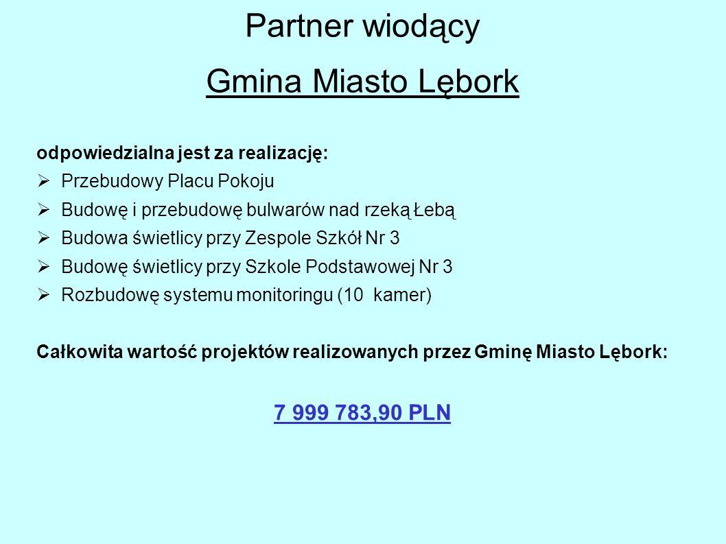 Partner wiodący Gmina Miasto Lębork