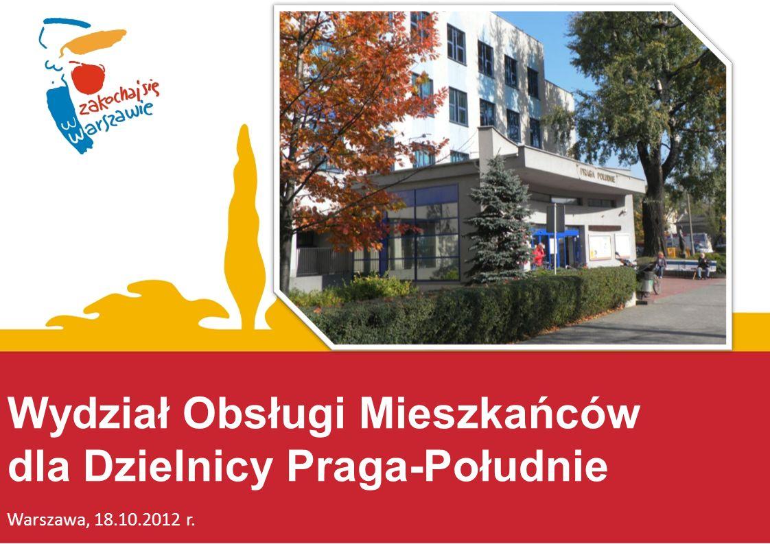 Wydział Obsługi Mieszkańców dla Dzielnicy Praga-Południe