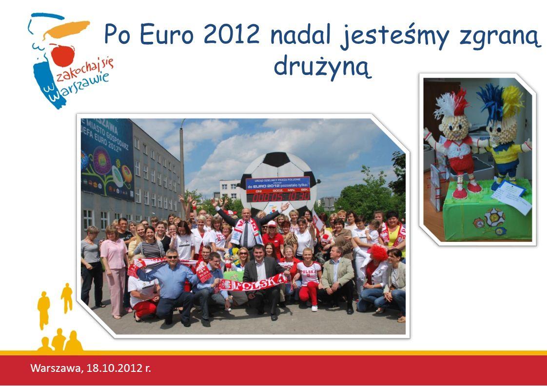 Po Euro 2012 nadal jesteśmy zgraną drużyną