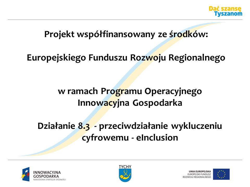Projekt współfinansowany ze środków: