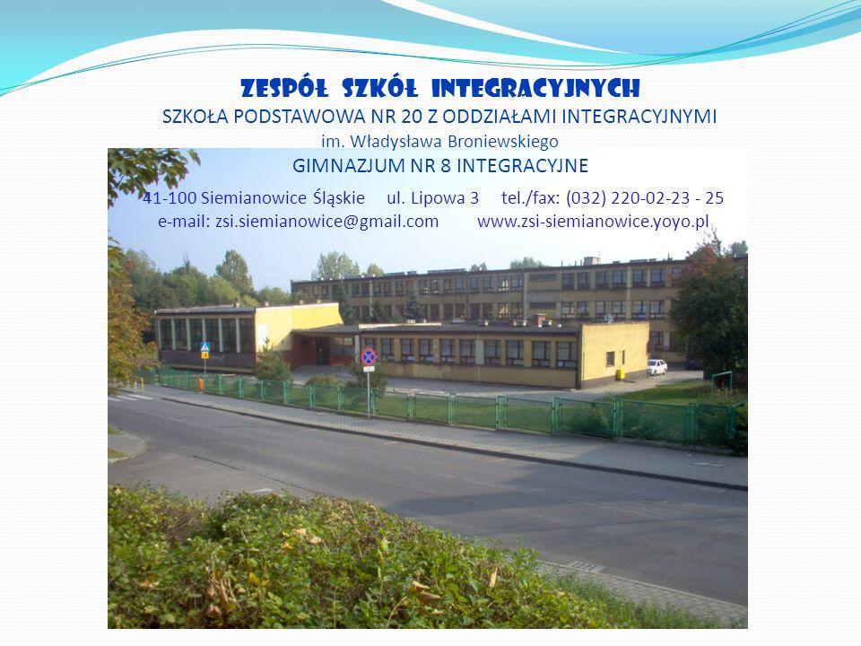 e-mail: zsi.siemianowice@gmail.com www.zsi-siemianowice.yoyo.pl