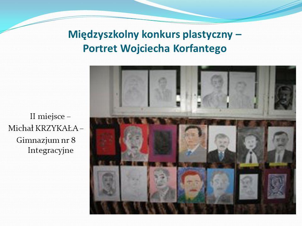 Międzyszkolny konkurs plastyczny – Portret Wojciecha Korfantego