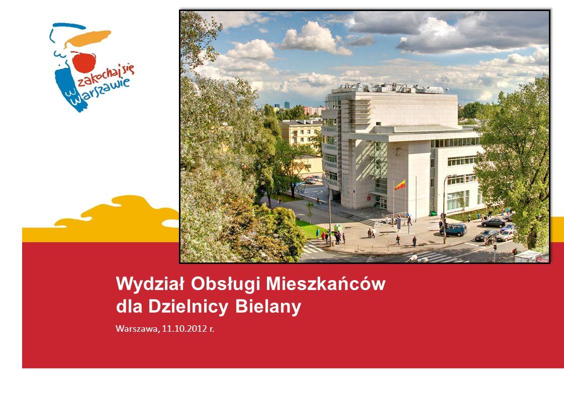 Wydział Obsługi Mieszkańców dla Dzielnicy Bielany