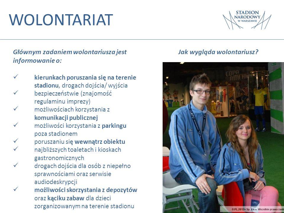 WOLONTARIAT Głównym zadaniem wolontariusza jest informowanie o: