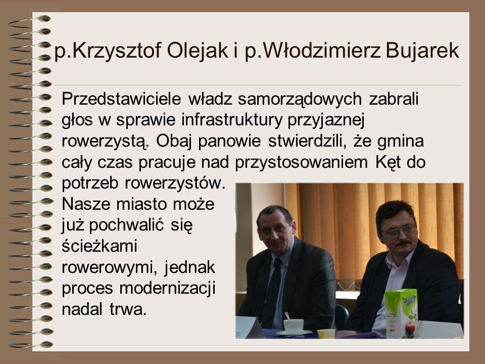 p.Krzysztof Olejak i p.Włodzimierz Bujarek