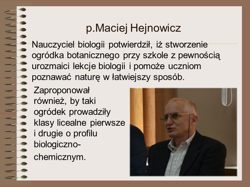 p.Maciej Hejnowicz
