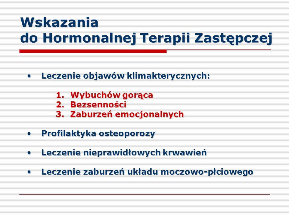 do Hormonalnej Terapii Zastępczej