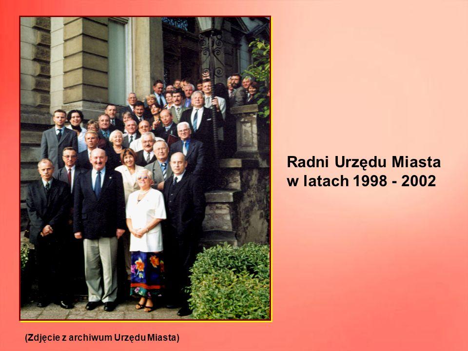 Radni Urzędu Miasta w latach 1998 - 2002