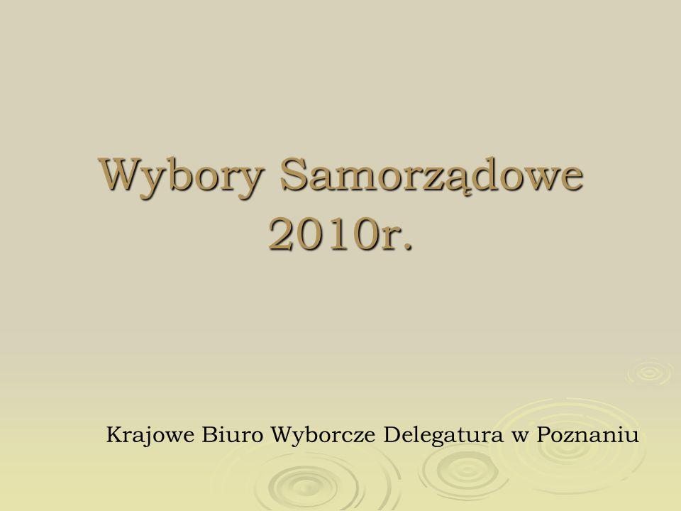 Krajowe Biuro Wyborcze Delegatura w Poznaniu