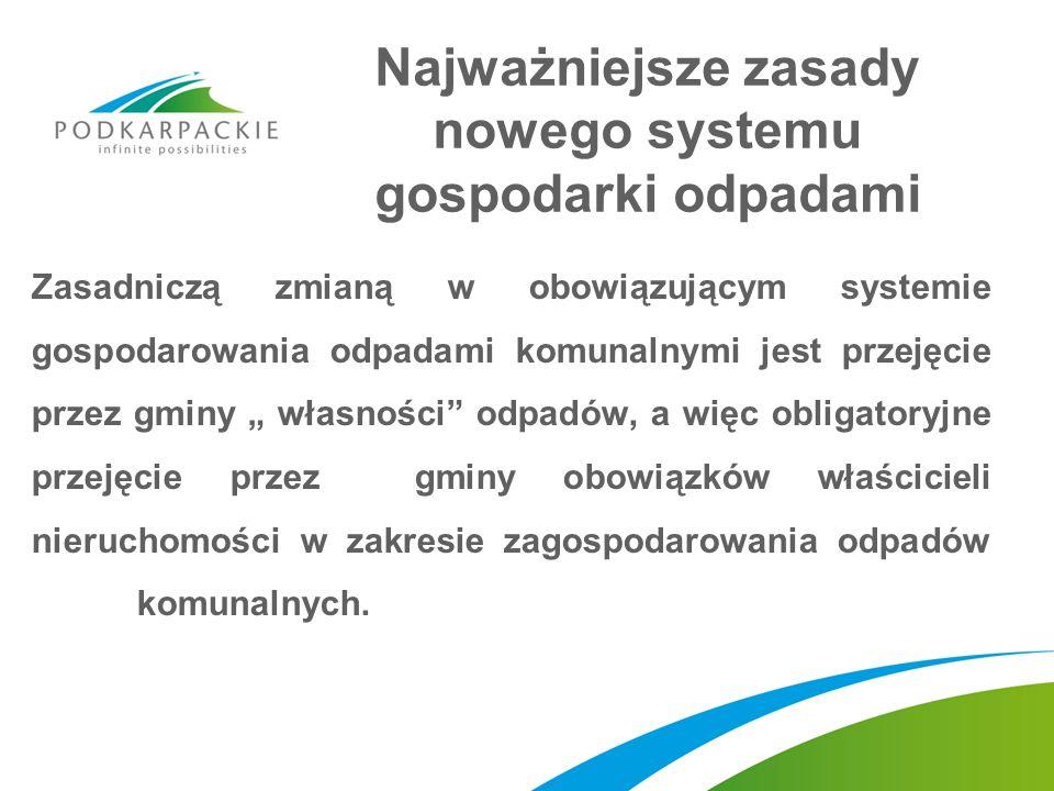 Najważniejsze zasady nowego systemu gospodarki odpadami