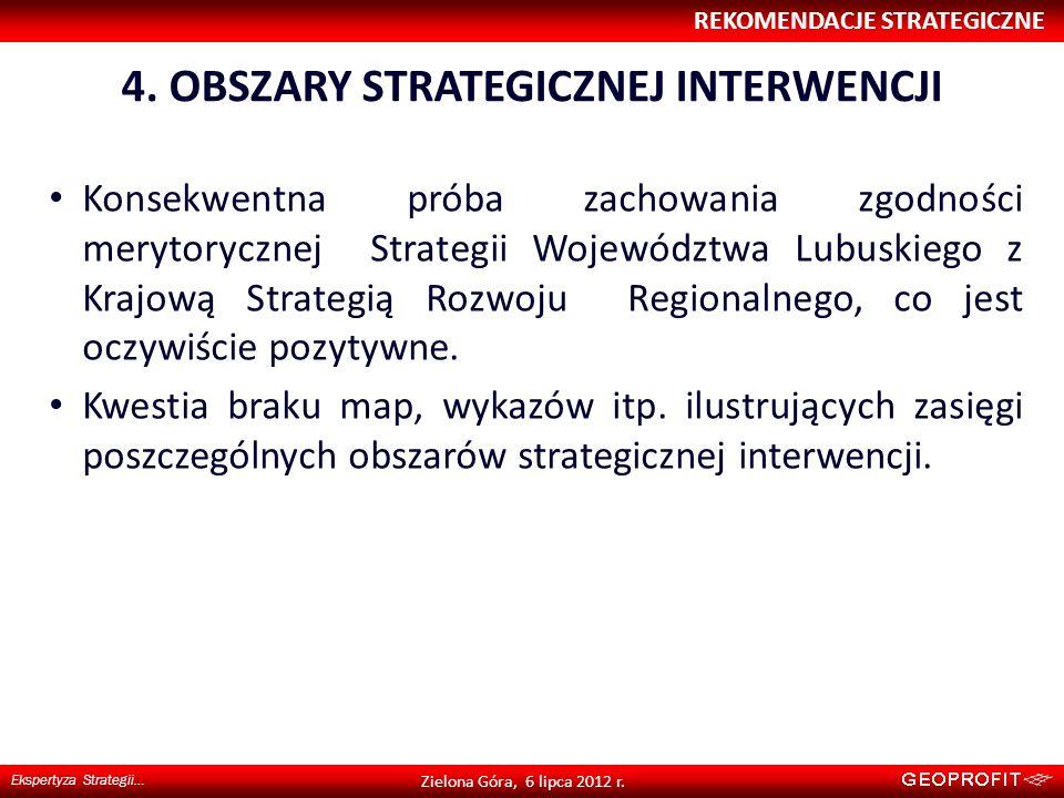 4. OBSZARY STRATEGICZNEJ INTERWENCJI