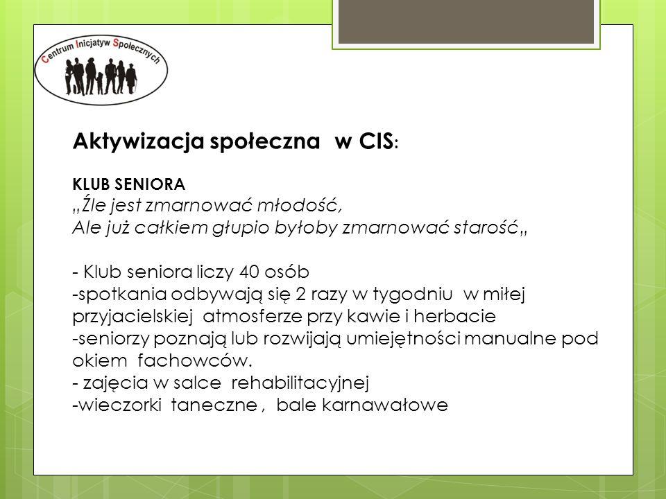Aktywizacja społeczna w CIS: