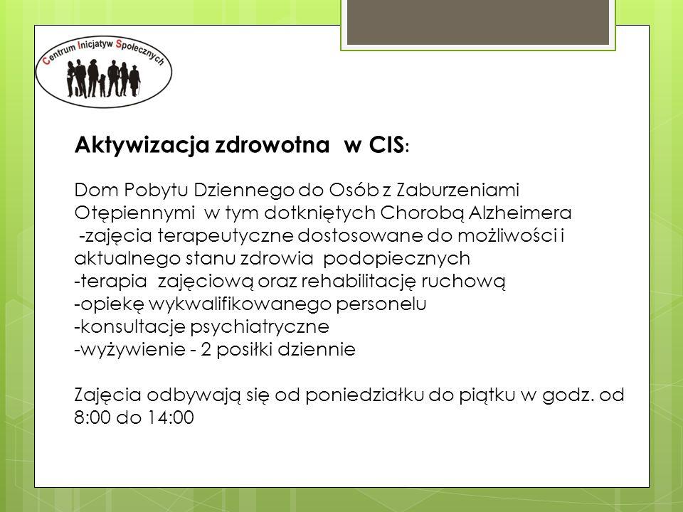 Aktywizacja zdrowotna w CIS: