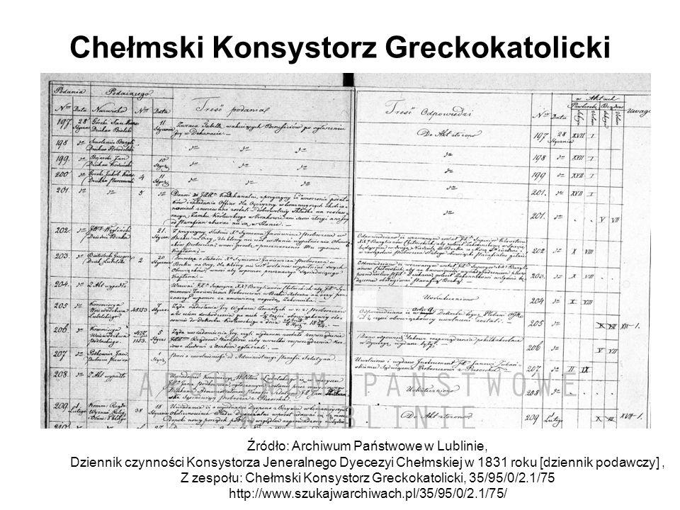 Chełmski Konsystorz Greckokatolicki
