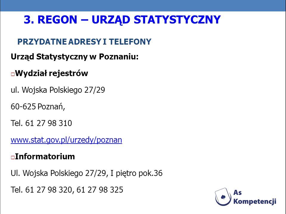 PRZYDATNE ADRESY I TELEFONY