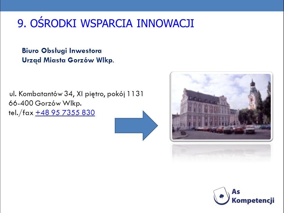 Biuro Obsługi Inwestora Urząd Miasta Gorzów Wlkp.