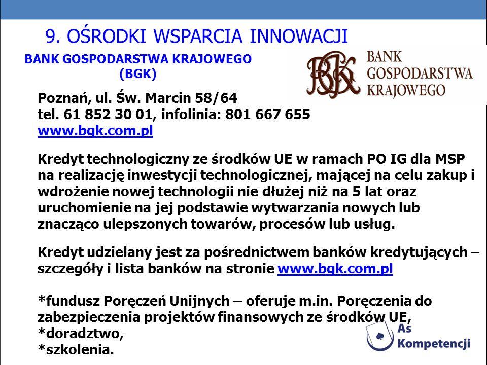 BANK GOSPODARSTWA KRAJOWEGO (BGK)