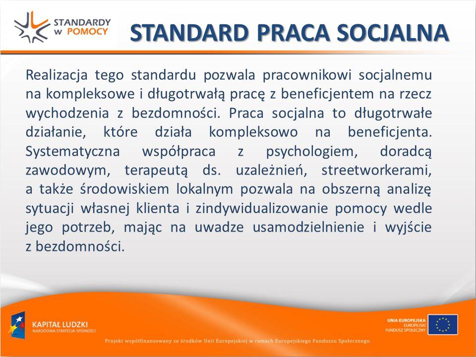 STANDARD PRACA SOCJALNA
