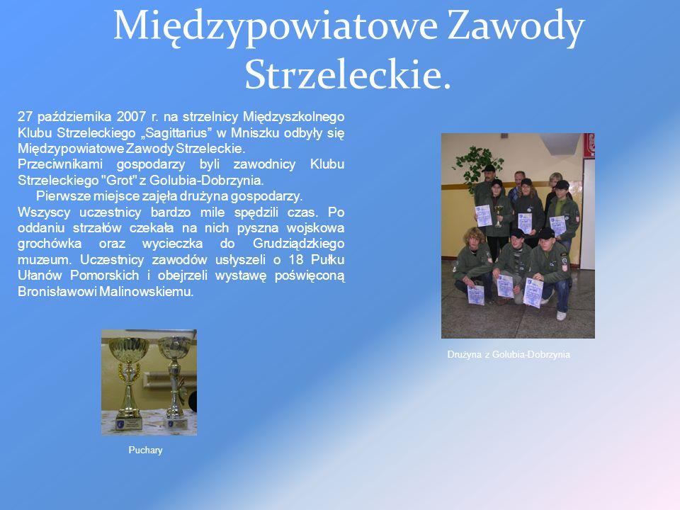 Międzypowiatowe Zawody Strzeleckie.