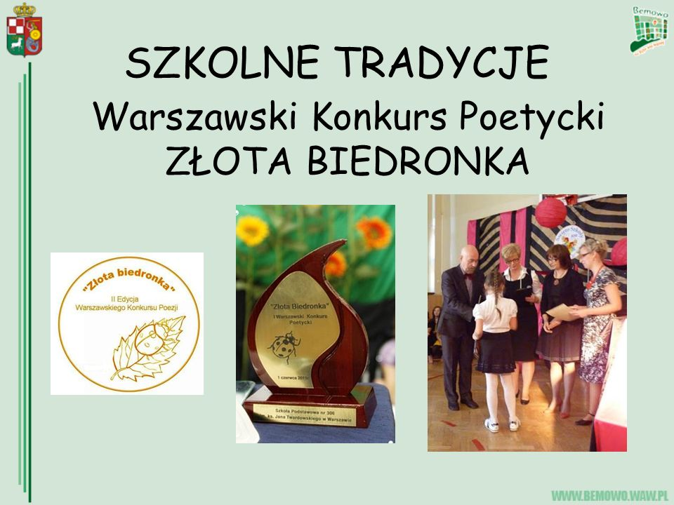 Warszawski Konkurs Poetycki ZŁOTA BIEDRONKA
