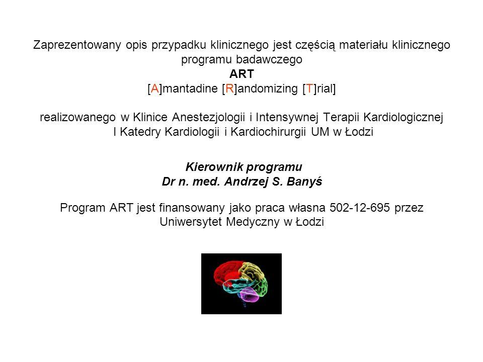 Program ART jest finansowany jako praca własna 502-12-695 przez