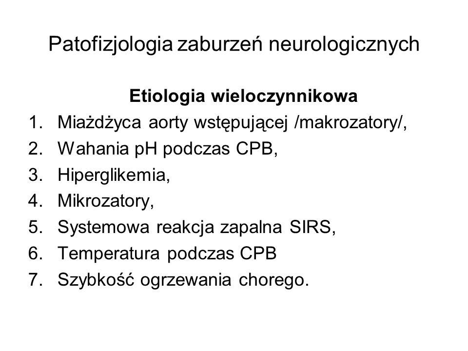 Patofizjologia zaburzeń neurologicznych