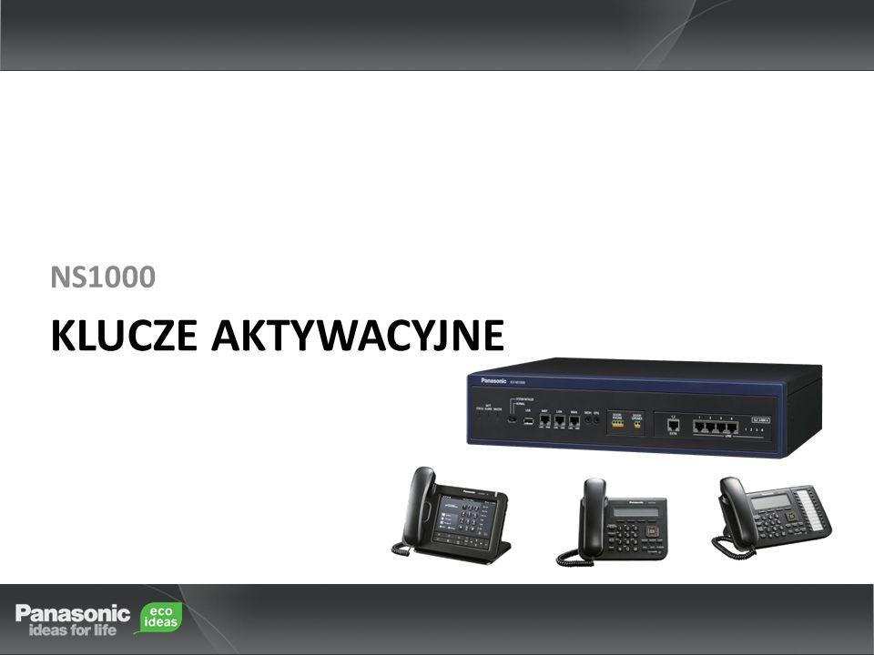 NS1000 KLUCZE AKTYWACYJNE