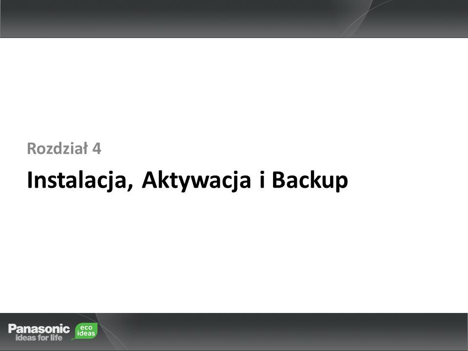 Instalacja, Aktywacja i Backup