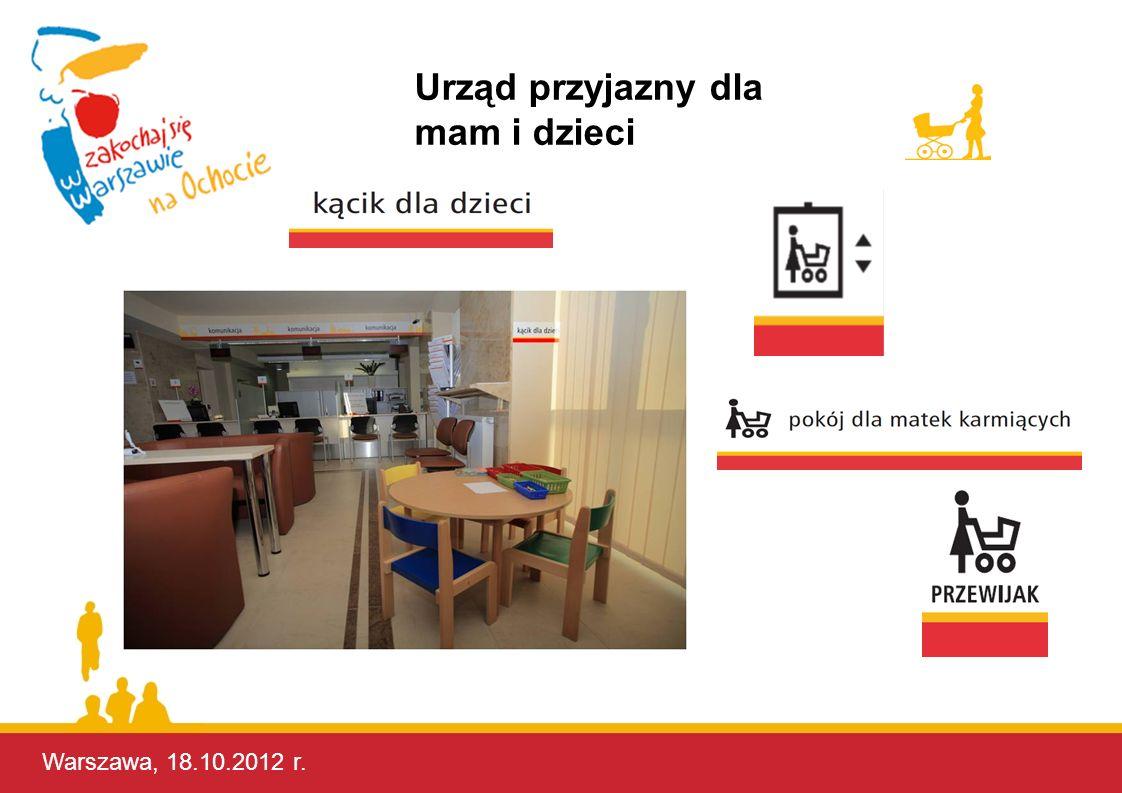 Urząd przyjazny dla mam i dzieci Warszawa, 17.10.2012 r.