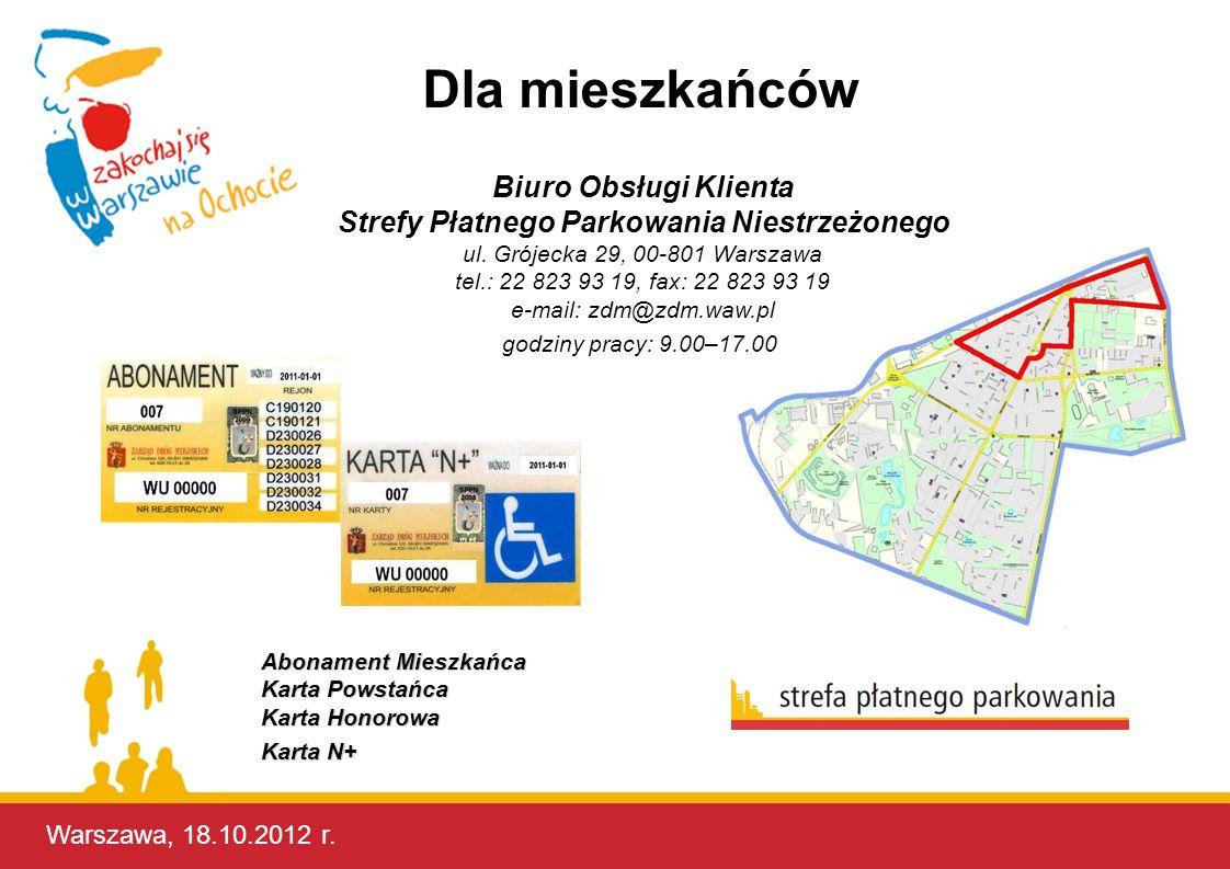 Strefy Płatnego Parkowania Niestrzeżonego
