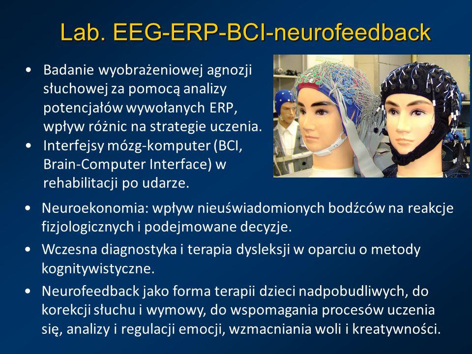 Lab. EEG-ERP-BCI-neurofeedback