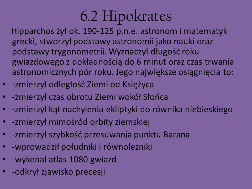 6.2 Hipokrates