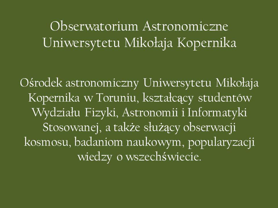 Obserwatorium Astronomiczne Uniwersytetu Mikołaja Kopernika