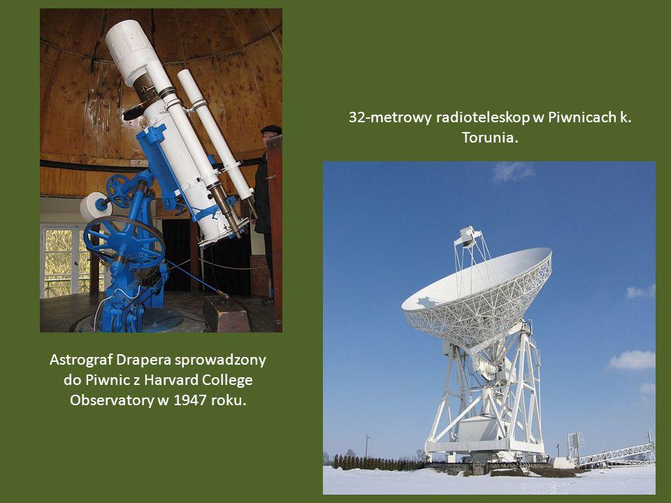 32-metrowy radioteleskop w Piwnicach k. Torunia.