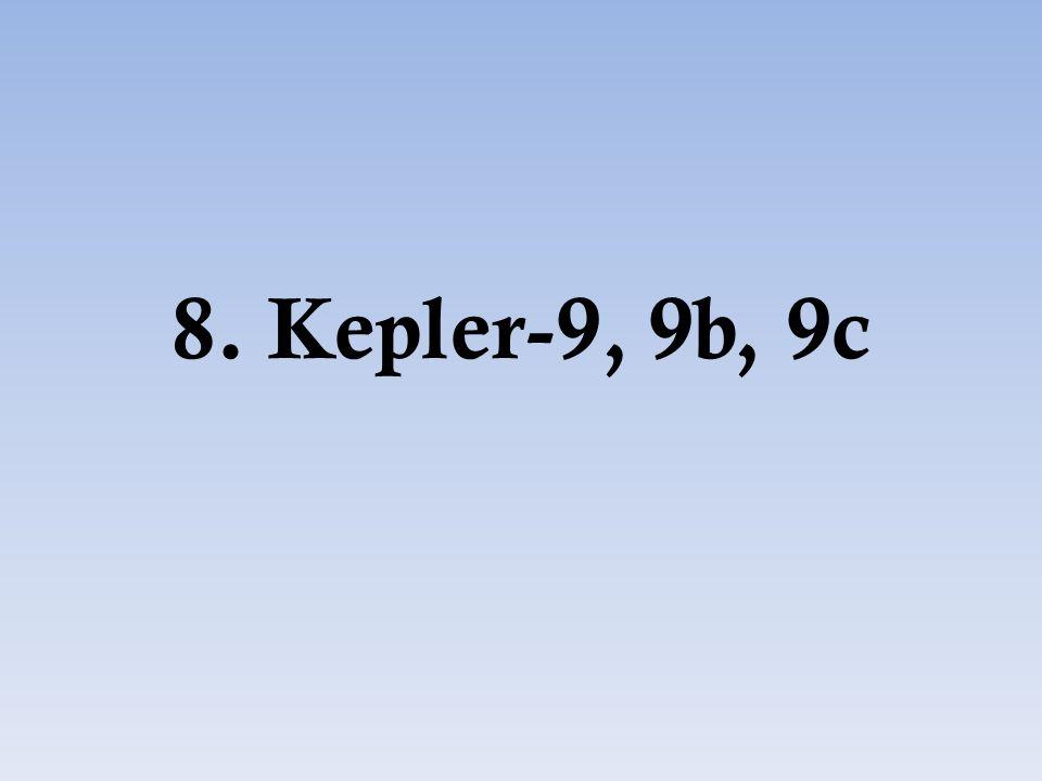 8. Kepler-9, 9b, 9c