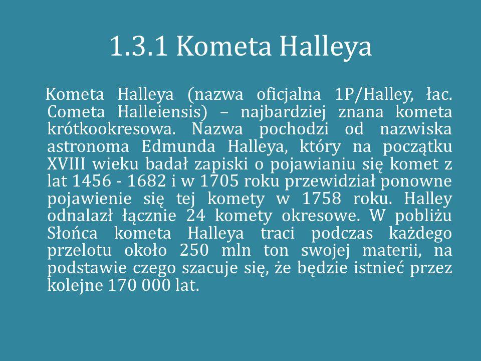 1.3.1 Kometa Halleya
