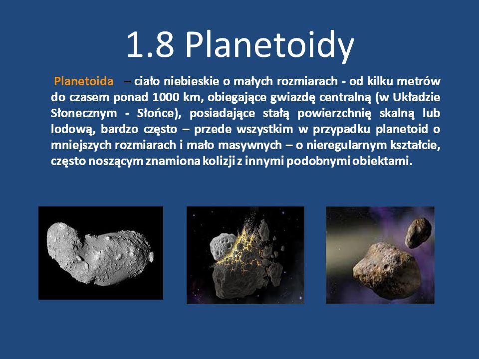 1.8 Planetoidy